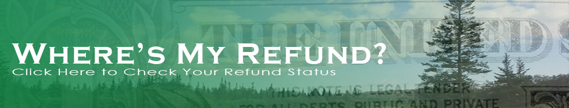 Where's MyRefund? Click Here to Check Your Refund Status.